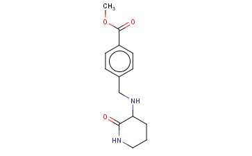 METHYL 4-([(2-OXOPIPERIDIN-3-YL)AMINO]METHYL)BENZOATE