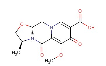(3S,11aR)-6-methoxy-3-methyl-5,7-dioxo-2,3,5,7,11,11a-hexahydrooxazolo[3,2-d]pyrido[1,2-a]pyrazine-8-carboxylic acid