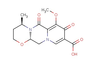(4R,12aS)-7-Methoxy-4-methyl-6,8-dioxo-3,4,6,8,12,12a-hexahydro-2H-[1,3]oxazino[3,2-d]pyrido[1,2-a]pyrazine-9-carboxylic acid