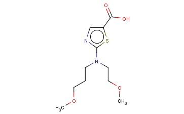 2-[(2-METHOXYETHYL)(3-METHOXYPROPYL)AMINO]-1,3-THIAZOLE-5-CARBOXYLIC ACID