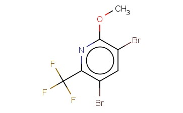 3,5-DIBROMO-2-METHOXY-6-(TRIFLUOROMETHYL)PYRIDINE