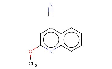 2-METHOXYQUINOLINE-4-CARBONITRILE