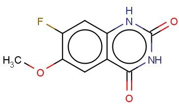 2,4(1H,3H)-QUINAZOLINEDIONE, 7-FLUORO-6-METHOXY-