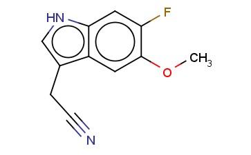 6-FLUORO-5-METHOXYINDOLE-3-ACETONITRILE