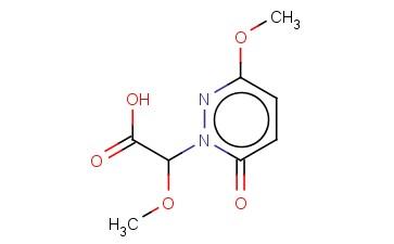 1(6H)-PYRIDAZINEACETIC ACID,-ALPHA-,3-DIMETHOXY-6-OXO-