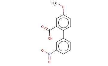 5-METHOXY-2-(3-NITROPHENYL)BENZOIC ACID