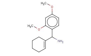 CYCLOHEX-1-EN-1-YL(2,4-DIMETHOXYPHENYL)METHANAMINE