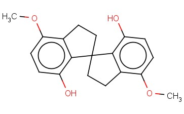 (S)-4,4'-DIMETHOXY-7,7'-DIHYDROXY-1,1'-SPIROBIINDANE