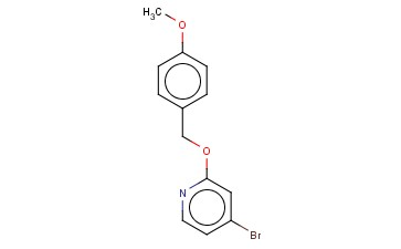 4-BROMO-2-(4-METHOXYBENZYLOXY)PYRIDINE
