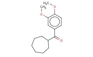 CYCLOHEPTYL(3,4-DIMETHOXYPHENYL)METHANONE