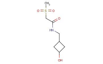 N-[(3-HYDROXYCYCLOBUTYL)METHYL]-2-METHANESULFONYLACETAMIDE