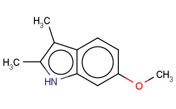 <span class='lighter'>6-METHOXY-2,3-DIMETHYL-1H-INDOLE</span>