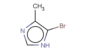5-BROMO-4-METHYL-1H-<span class='lighter'>IMIDAZOLE</span>