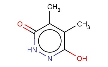 1,6-DIHYDRO-4,5-DIMETHYL-6-OXO-3-PYRIDAZINYLOXY