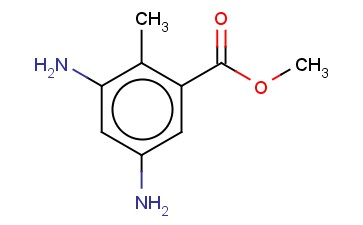 3,5-DIAMINO-2-METHYL-BENZOIC ACID, METHYL ESTER