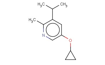 5-CYCLOPROPOXY-2-METHYL-3-(PROPAN-2-YL)PYRIDINE