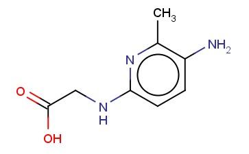 2-[(5-AMINO-6-METHYLPYRIDIN-2-YL)AMINO]ACETIC ACID