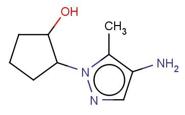 2-(4-AMINO-5-METHYL-1H-PYRAZOL-1-YL)CYCLOPENTAN-1-OL