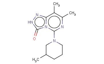 7,8-DIMETHYL-5-(3-METHYL-PIPERIDIN-1-YL)-2H-[1,2,4]TRIAZOLO[4,3-C]PYRIMIDIN-3-ONE