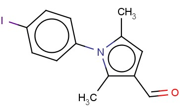 1-(4-IODO-PHENYL)-2,5-DIMETHYL-1H-PYRROLE-3-CARBALDEHYDE