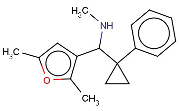 [(2,5-DIMETHYLFURAN-3-YL)(1-PHENYLCYCLOPROPYL)METHYL](METHYL)AMINE