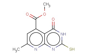 METHYL 2-MERCAPTO-7-METHYL-4-OXO-3,4-DIHYDROPYRIDO[2,3-D]PYRIMIDINE-5-CARBOXYLATE