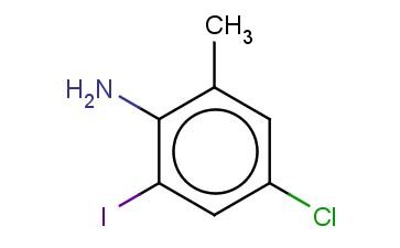 4-CHLORO-2-IODO-6-METHYLANILINE