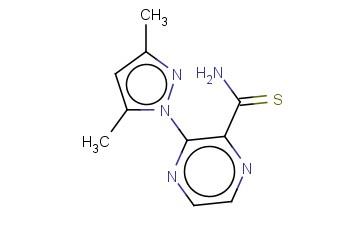 3-(3,5-DIMETHYL-1H-PYRAZOL-1-YL)PYRAZINE-2-CARBOTHIOAMIDE