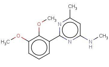 2-(2,3-DIMETHOXYPHENYL)-N,6-DIMETHYLPYRIMIDIN-4-AMINE