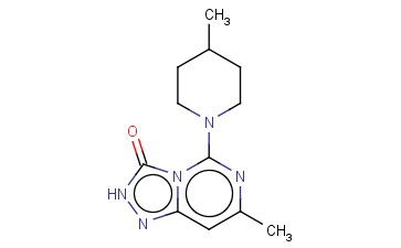 7-METHYL-5-(4-METHYL-PIPERIDIN-1-YL)-2H-[1,2,4]TRIAZOLO[4,3-C]PYRIMIDIN-3-ONE