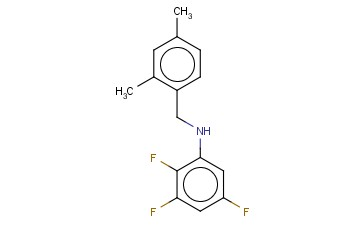 N-[(2,4-DIMETHYLPHENYL)METHYL]-2,3,5-TRIFLUOROANILINE