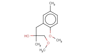 1-METHOXY-3-(2-METHOXY-5-METHYLPHENYL)-2-METHYLPROPAN-2-OL