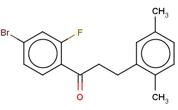 4'-BROMO-3-(2,5-DIMETHYLPHENYL)-2'-FLUOROPROPIOPHENONE