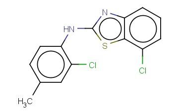 7-CHLORO-N-(2-CHLORO-4-METHYLPHENYL)-1,3-BENZOTHIAZOL-2-AMINE