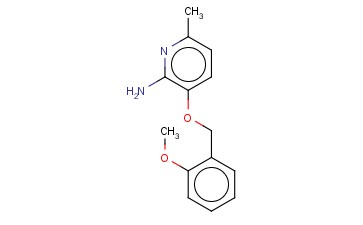 3-[(2-METHOXYPHENYL)METHOXY]-6-METHYLPYRIDIN-2-AMINE