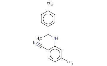 4-METHYL-2-([1-(4-METHYLPHENYL)ETHYL]AMINO)BENZONITRILE