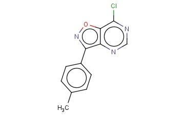 7-CHLORO-3-(4-METHYLPHENYL)ISOXAZOLO[4,5-D]PYRIMIDINE