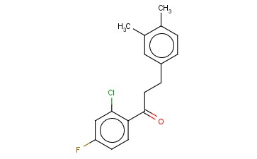 2'-CHLORO-3-(3,4-DIMETHYLPHENYL)-4'-FLUOROPROPIOPHENONE