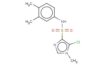 5-CHLORO-N-(3,4-DIMETHYLPHENYL)-1-METHYL-1H-IMIDAZOLE-4-SULFONAMIDE