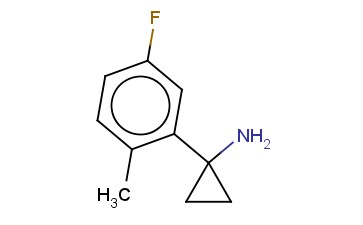 1-(5-FLUORO-2-METHYLPHENYL)CYCLOPROPAN-1-AMINE