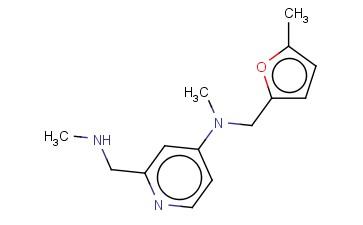 N-METHYL-2-[(METHYLAMINO)METHYL]-N-[(5-METHYLFURAN-2-YL)METHYL]PYRIDIN-4-AMINE