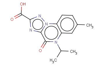 5-ISOPROPYL-7-METHYL-4-OXO-4,5-DIHYDRO[1,2,4]TRIAZOLO[1,5-A]QUINOXALINE-2-CARBOXYLIC ACID