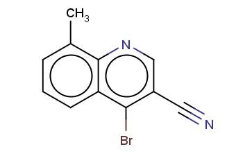 4-BROMO-8-METHYLQUINOLINE-3-CARBONITRILE