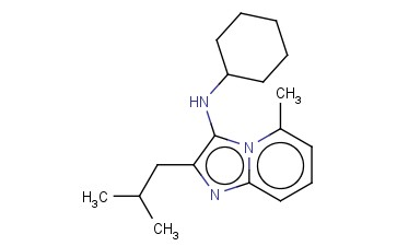 N-CYCLOHEXYL-2-METHYL-8-(2-METHYLPROPYL)-1,7-DIAZABICYCLO[4.3.0]NONA-2,4,6,8-TETRAEN-9-AMINE
