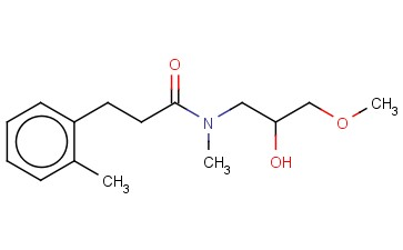 N-(2-HYDROXY-3-METHOXYPROPYL)-N-METHYL-3-(2-METHYLPHENYL)PROPANAMIDE