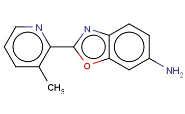2-(3-METHYLPYRIDIN-2-YL)-1,3-BENZOXAZOL-6-AMINE