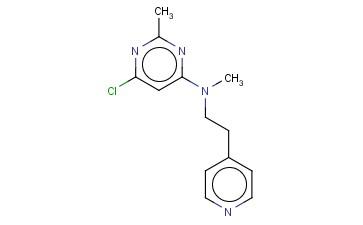 6-CHLORO-N,2-DIMETHYL-N-[2-(PYRIDIN-4-YL)ETHYL]PYRIMIDIN-4-AMINE