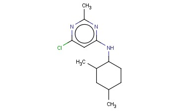 6-CHLORO-N-(2,4-DIMETHYLCYCLOHEXYL)-2-METHYLPYRIMIDIN-4-AMINE
