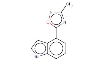 4-(3-METHYL-1,2,4-OXADIAZOL-5-YL)-1H-INDOLE