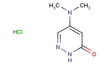 5-(Dimethylamino)pyridazin-3(2H)-one hydrochloride